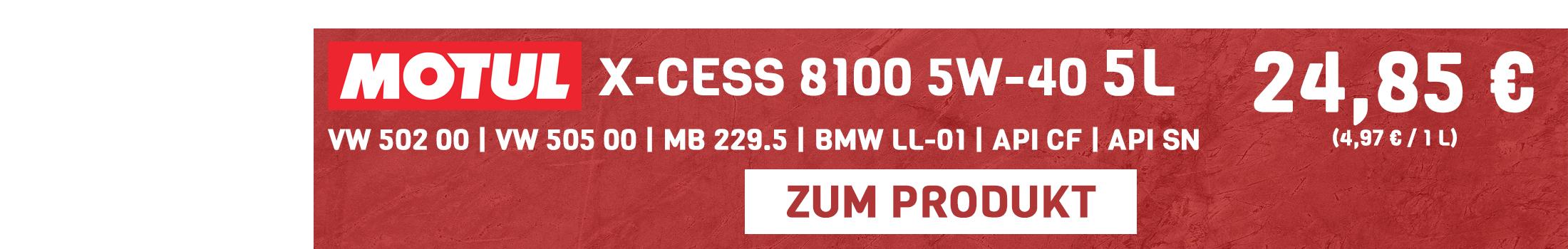 Motul X-Cess 8100 5W-40 5 L Sale