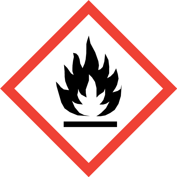 GHS02 - Gefahr oder Achtung