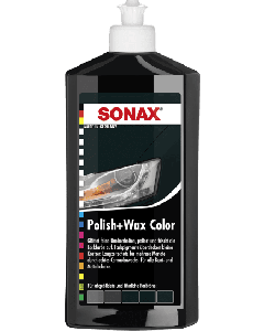 Sonax Polish+Wax Color schwarz 500 ml