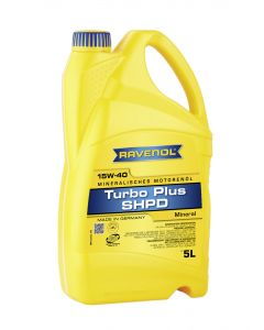 RAVENOL Turbo-Plus SHPD SAE 15W-40 5 L