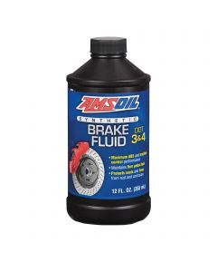msoil Synthetic Brake Fluid DOT 3&4 0,355 L