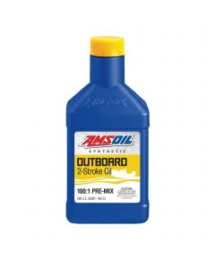 Amsoil Outboard 100:1 Pre-Mix Synthetic 2-Zylinder