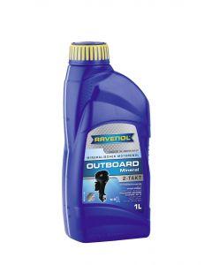 RAVENOL Outboardoel 2T Mineral--0-