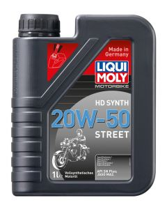 Liqui Moly HD SYNTH 20W-50 STREET 1L