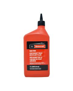 motorcraft sae 75w disconnect rear drive and fluid 0.946 l