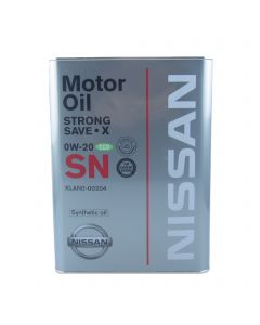 Nissan Strong Save X 0W-20 SN 4 L