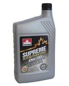 Petro-Canada Supreme Synthetic 0W-30 1 L