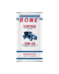 ROWE Hightec Vintage SAE 20W-50 Unlegiert 5 L