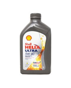 Shell Helix Ultra 5W-40 1 l front